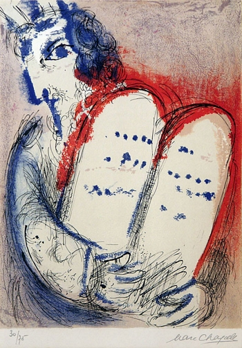 Marc Chagall - Mose